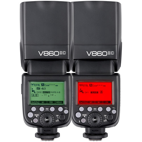 فلاش اکسترنال / فلاش روی دوربین گودوکس مدل Godox VING V860IIC TTL