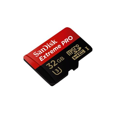 رم میکرو اس دی سن دیسک ۳۲ گیگابایت ۱۰۰MB Extrem Pro 4K U3