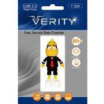 فلش مموری عروسکی ۱۶ گیگ وریتی مدل Flash Memory Verity T204 16GB USB2