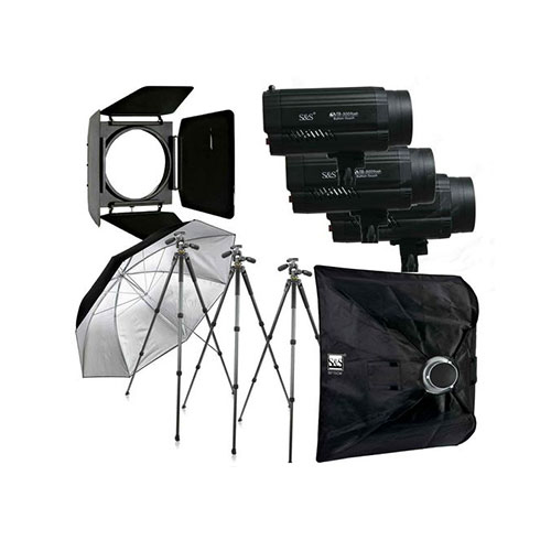 کیت فلاش S&S 300J Studio Flash Kit TB-300