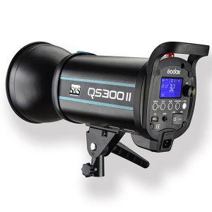 فلاش چتری استودیویی ۳۰۰ ژول S&S QS-300 II