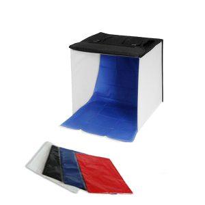 خیمه عکاسی ال ای دی دار Light Tent LED 70*70 cm