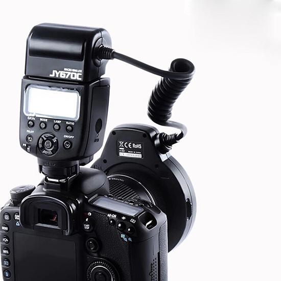 رینگ فلاش ویلتروکس مدل Viltrox JY670 C برای کانن