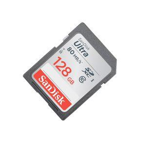 کارت حافظه اس دی سن دیسک ۱۲۸ گیگابایت Ultra 533X 80MBps U1
