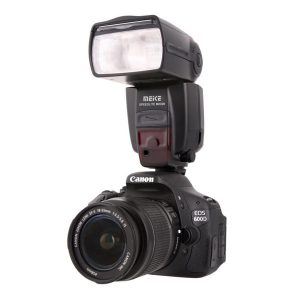 فلاش اکسترنال / فلاش روی دوربین کانن مدل MEIKE-MK600