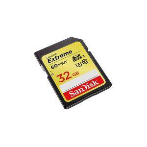 کارت حافظه اس دی سن دیسک SD Sandisk 32GB 600X U3